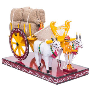 Natural Bullock Cart