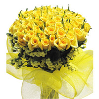100 Yellow roses to Rajahmundry