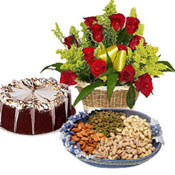 Unusual Gift hampers (Midnight) to Kakinada