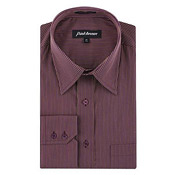 Park Avenue Formal Striped Shirt