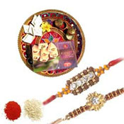Thali With Sweets
