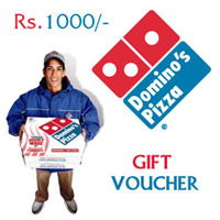 Dominos Gift Vouchers Rs.1,000/-