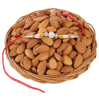 Almonds Basket For Rakhi
