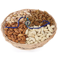One kg Dry fruits & Rakhi