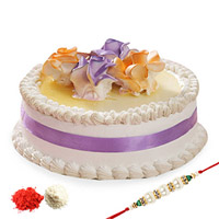 Rakhi with pineapple