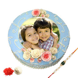 Rakhi Special Photo Cake