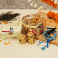 Rakhi With Chocolates  to Rajahmundry