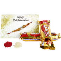 Rakhi With 5 Star Twist