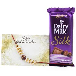 Chocolate with Rakhi Combo