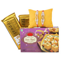 Soan Papdi Rakhi Treat