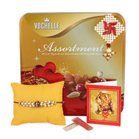 Voghelle Assortment Rakhi Combo to Rajahmundry