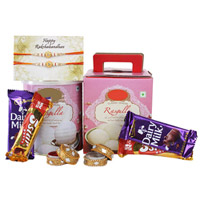 Rasgulla With Chocolates For Rakhi