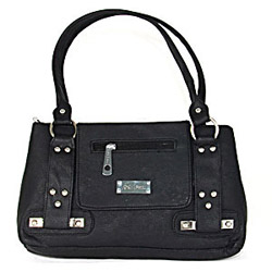 Black Sleek Handbag for Women