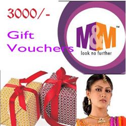 M&M - GUNTUR GIFT VOUCHER - RS.3000/-