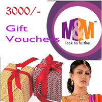 M&M - GUNTUR GIFT VOUCHER - RS.3000/-