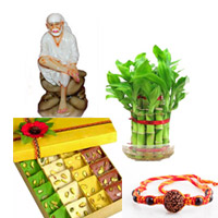 Good Luck Bamboo rakhi