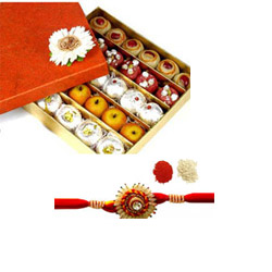 Kaju  sweets With Rakhi