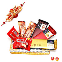 Chocopie Hamper with Rakhi