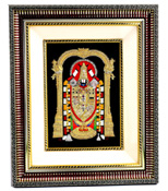 Glass Frame with Balaji