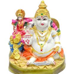 Kuber Lakshmi Idol to Vizag