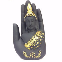 Buddha Embosed in a Palm