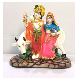 Radha Krishna With  Cow to Kakinada