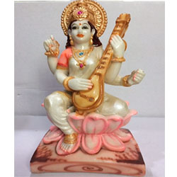 Saraswati Goddess idol to Kakinada