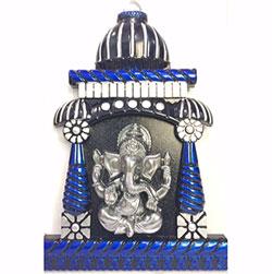 Ganesh Mandir wall frame
