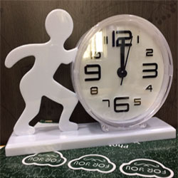 Wake up table Clock