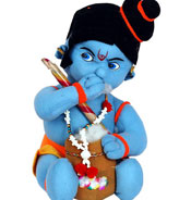 Soft Toy- Lord Bal Krishna teddy