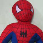 Spider man soft toy
