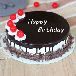 Black Forest Birthday Cake to Vizag
