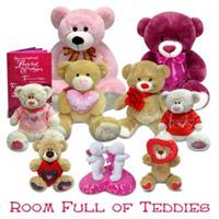 Room Full Of Love Teddies to Rajahmundry