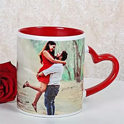 Red Ceramic Mug to Rajahmundry