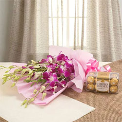 Orchids N Chocolates