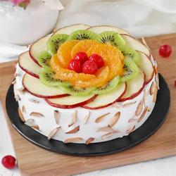 Fresh Fruit Almond Cake to Rajahmundry