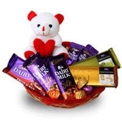 Chocolate basket to Kakinada