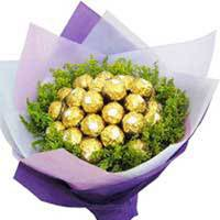 Ferrero Rocher chocolate bunch