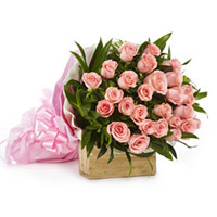 pink roses bunch to kakinada