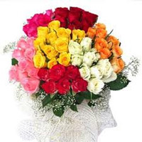 Beautiful 100 mix roses (Midnight) to Rajahmundry