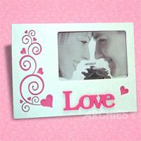 The Love Frame - White