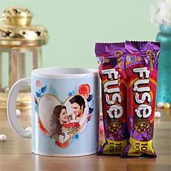Personalised Mug & Fuse Chocolates