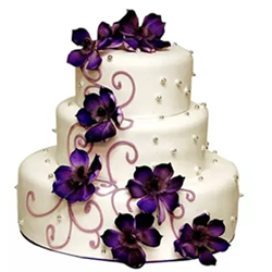 Fondant Weddng cake 5kg