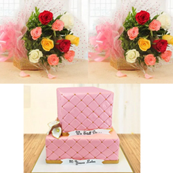 Rose Wedding Cake 3kg