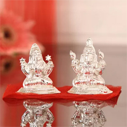 35 Gms Laxmi Ganesha Idol