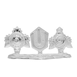 Silver vishnu chakram