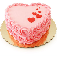 Heart Shape Cake to guntur