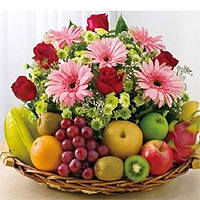 Flowers & Fruits to guntur