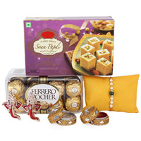 Rakhi and Chocolates to guntur