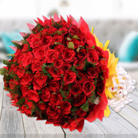 Valentines Day Flowers to guntur